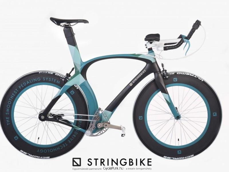Karbon Stringbike építés